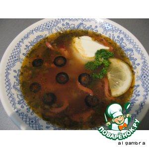 Рецепт Солянка домашняя (мясная)