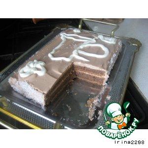 Рецепт Кисломолочный торт