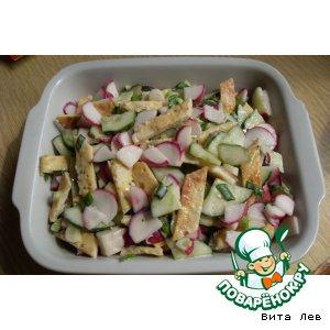 Рецепт Весенний салат 5 -минутка