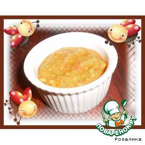 Рецепт: Салат-пюре для ваших малышей