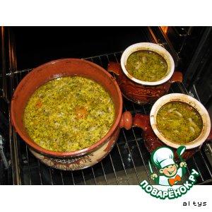 Рецепт Сырно-грибной суп