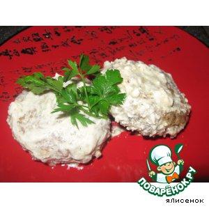 Рецепт Гречаники в сметанном соусе