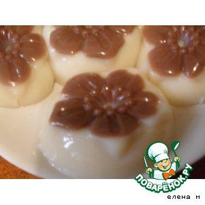 Рецепт Желе из топленого молока с шоколадом