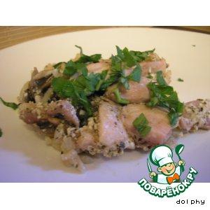 Рецепт Запеканка из курицы с рисом