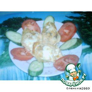 Рецепт Конкильони с мясом в сливочном соусе