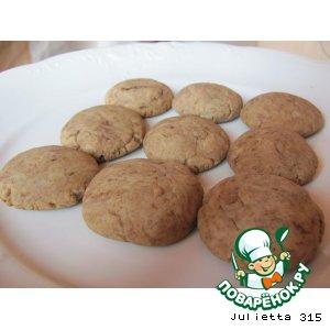 Рецепт Медовое печенье с корицей