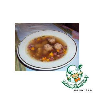 Рецепт Молдавский фасолевый суп