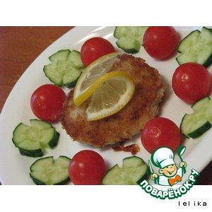 Рецепт: Рыбные котлетки из пикши