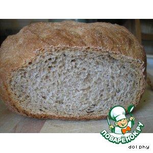 Рецепт Хлеб с яблочным пюре и имбирем