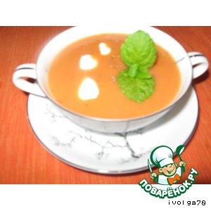 Рецепт Сытный суп с болгарским перцем