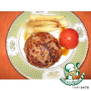 Рецепт Бургер из индейки
