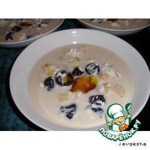 Суп десертный домашний пошаговый рецепт приготовления с фотографиями готовим