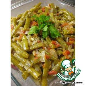 Рецепт Стручковая фасоль на оливковом масле