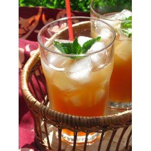 Рецепт Яблочно-мятный холодный чай