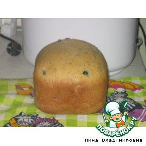 Рецепт Оливковый хлеб