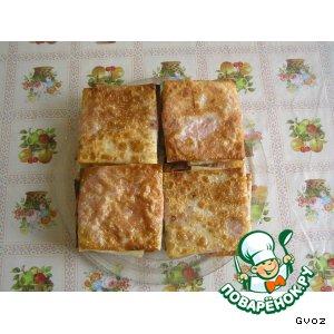 Рецепт Жареный лавашик с колбаской