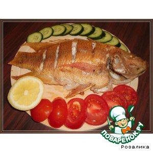 Рецепт Жареная рыбка Тилапия (Tilapia)
