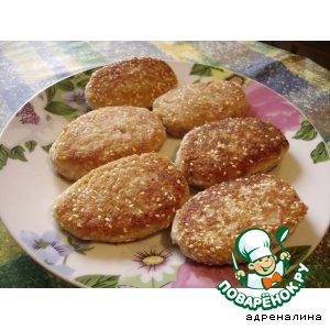 Рецепт Рыбно-рисовые  биточки с творогом