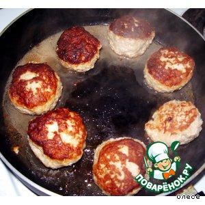 Рецепт Биточки из рубленого мяса и картофеля