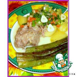 Рецепт Свинина в сметанном соусе