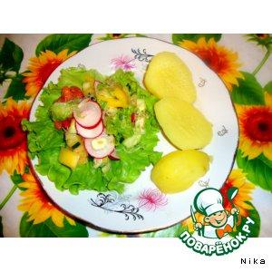 """Рецепт Овощной салат """"Витамин"""""""