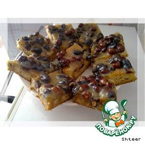 Рецепт Нежные пирожные с орехами и черносливом
