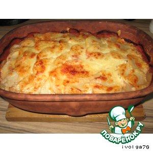 Рецепт Запеченная картошка с фаршем