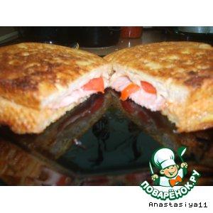 Рецепт Бутерброд в кляре