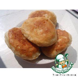 Рецепт Пирожки жареные с горохом