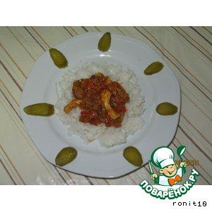 Куриная грудка с овощами рецепт с фото пошагово как приготовить