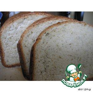 Рецепт Хлеб с молодым сыром и укропом