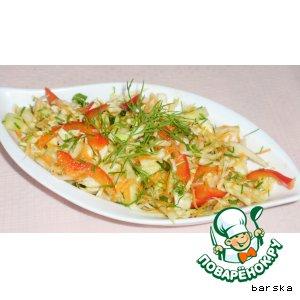Рецепт Салат из свежей капусты