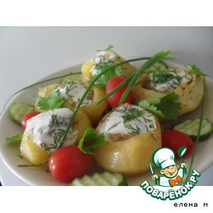 Фаршированный картофель вкусный рецепт с фотографиями как готовить