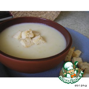 Рецепт Суп-пюре из картофеля и лука-порея