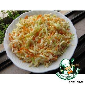 Рецепт Капустный салатик