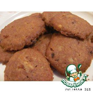 Рецепт Печенье шоколадное без яиц