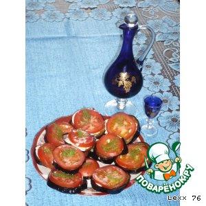 Рецепт Любимая закуска из баклажан
