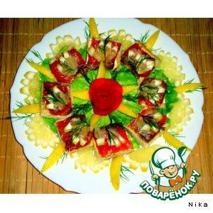 Рецепт Канапе с лососем
