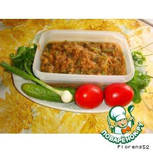 Рецепт Эфиопский суп из красной чечевицы с приправами Бербере, фасолью и шпинатом