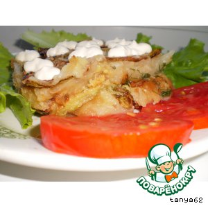 Рецепт Запеканка из картофеля и кабачков
