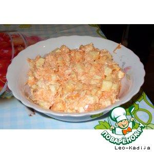 Рецепт Необычный салат из моркови