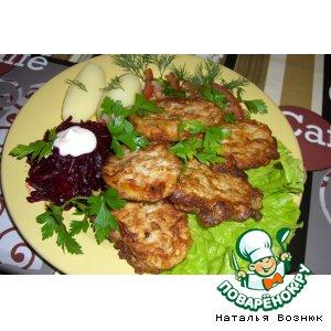 Рецепт Кабачковые язычки с фаршем и сыром