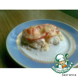 Рецепт Курочка под сырной шубкой