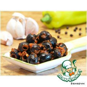 Рецепт Как облагородить баночные маслины