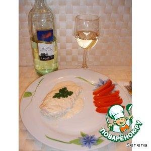 Рецепт Куриная грудка в граппе и сливках