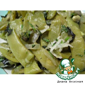 Рецепт Зелeное лобио из фасоли
