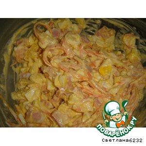 Рецепт Салат с картофельными чипсами