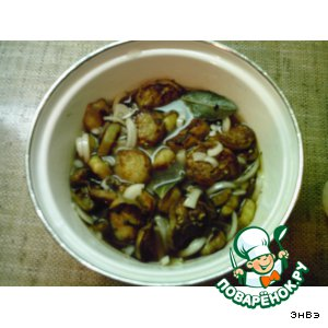 Рецепт Баклажановые грибочки