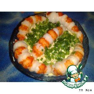 Салат с креветками домашний пошаговый рецепт с фотографиями как приготовить