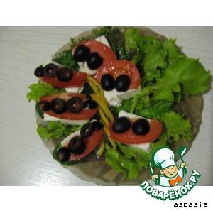 "Рецепт Бутерброды ""0 калорий"""